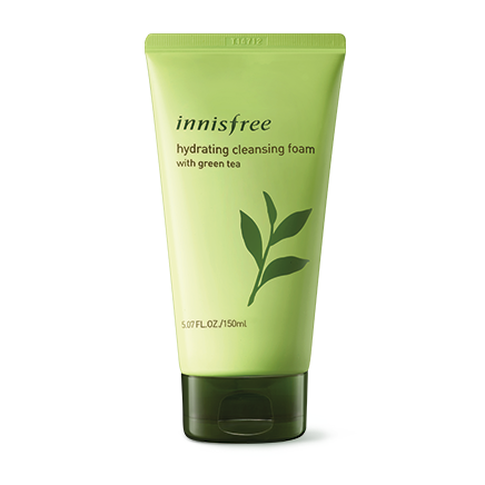 Innisfree Hydrating Cleansing Foam with Green Tea