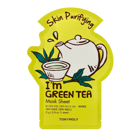 TONY MOLY I'm Real Sheet Mask Green Tea (Set of 2)