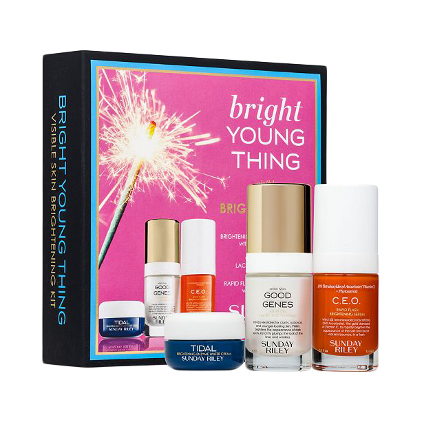 Sunday Riley Bright Young Thing Visible Skin Brightening Kit (3 pieces)