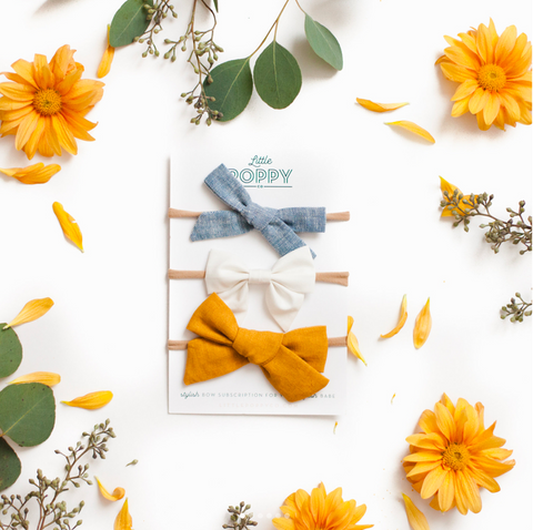 Little Poppy Co. Bow Subscription