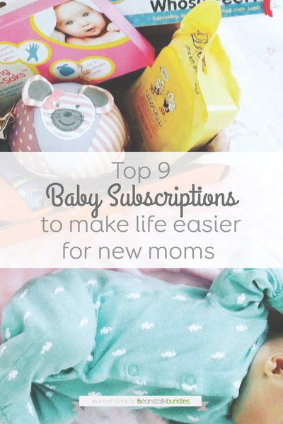 Top 9 Baby Subscriptions to make life easier for new moms