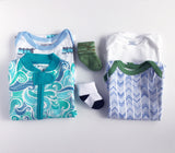 Baby Boy Clothes Subscription - 2 pajamas, 2 onesies, 2 pairs of socks