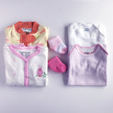 Baby Girl Clothes Subscription - 2 pajamas, 2 onesies, 2 pairs of socks