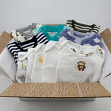 Big boutique baby boy clothing bundle 3-6 months - 5 pajamas, 5 onesies