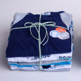 Baby Boy Clothes Subscription - 3 pajamas, 3 onesies, 3 pairs of socks