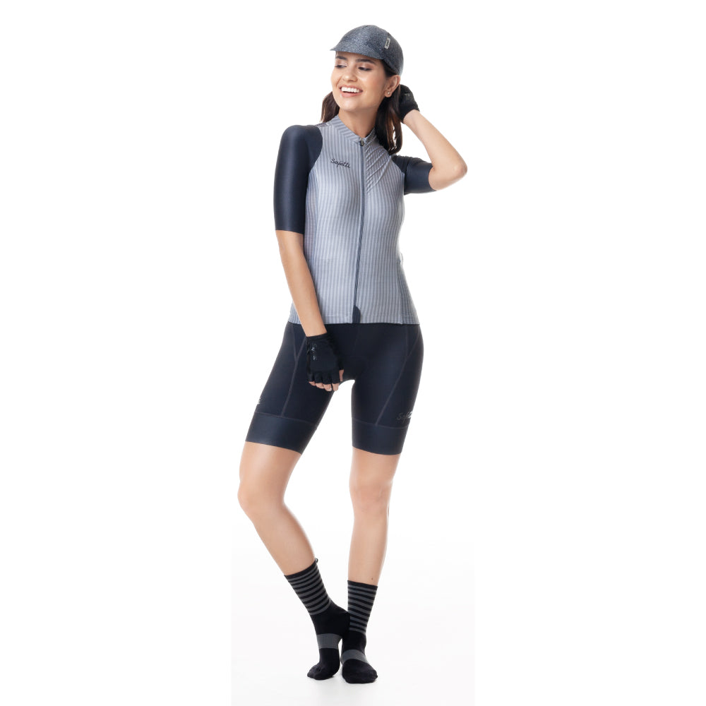 Trascendenza - Nápoles Trascendenza - Bib Short. Women. Gray