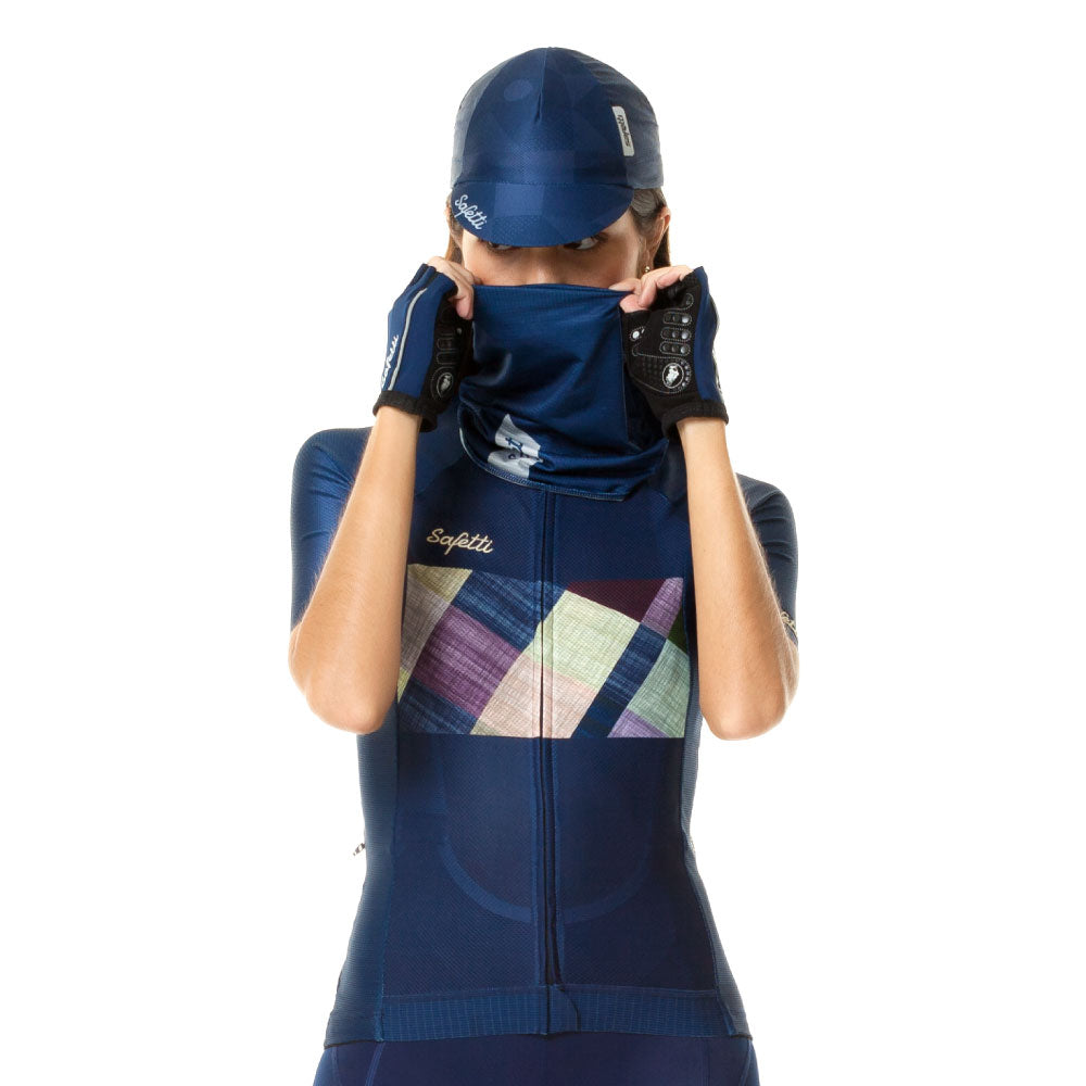 Trascendenze - Essenziale - Blue Face Protector (Buff). Unisex