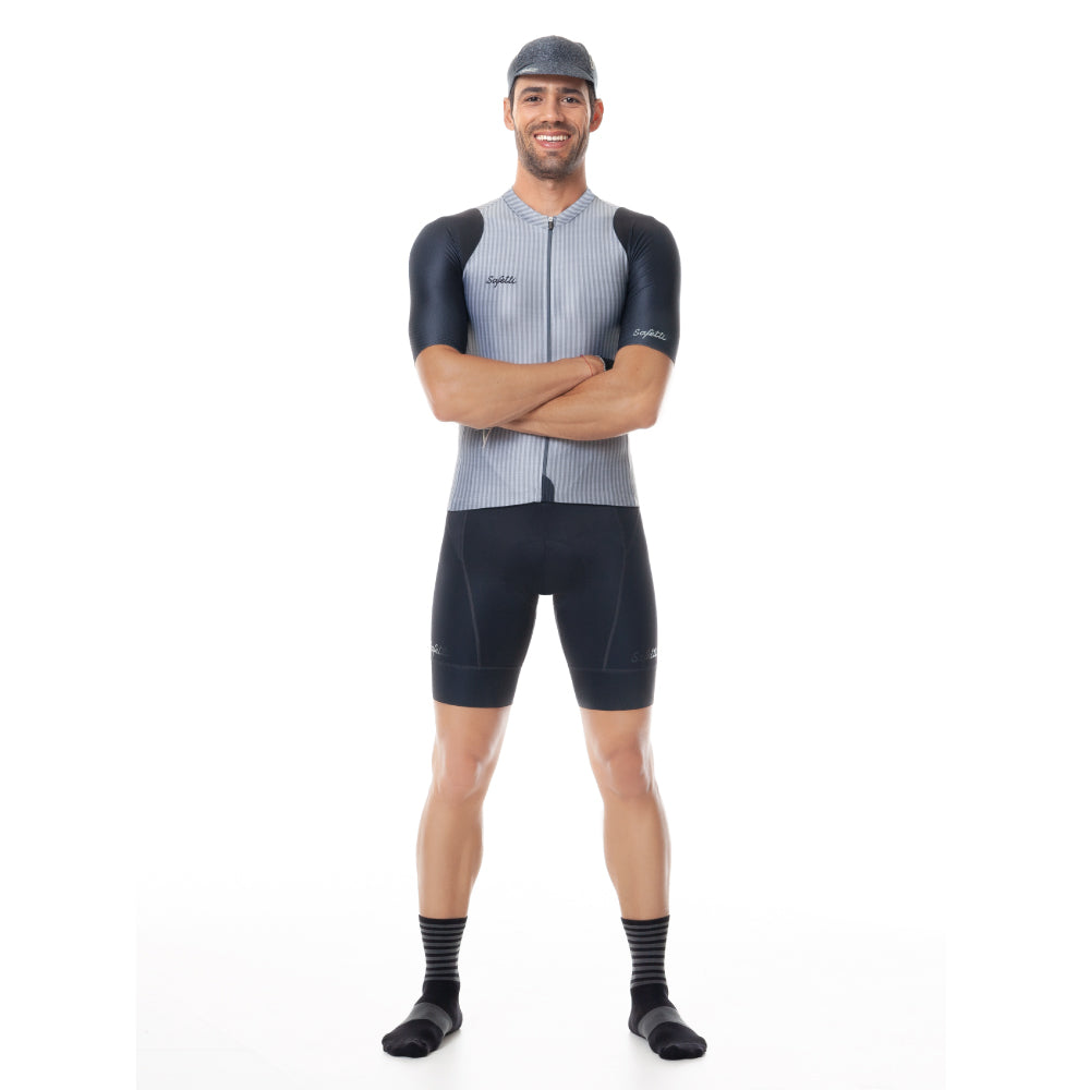 Trascendenza - Nápoles Trascendenza - Bib Short. Men.  Gray