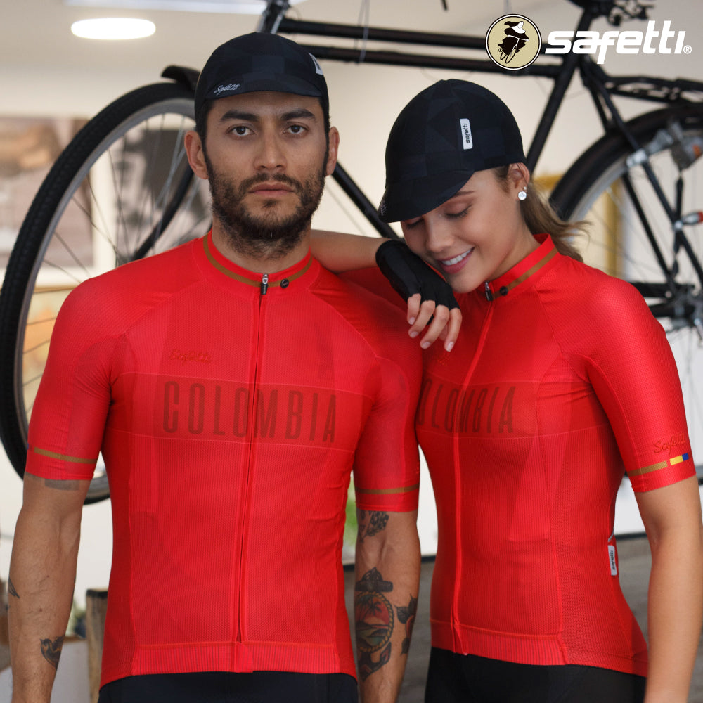 Pre-order Monument II - Colombia Red - Short Sleeve Jersey. Men