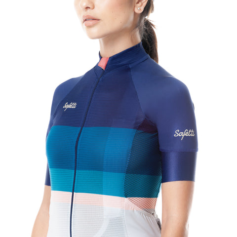 Trascendenza - Evanescent - Short Sleeve Jersey. Women