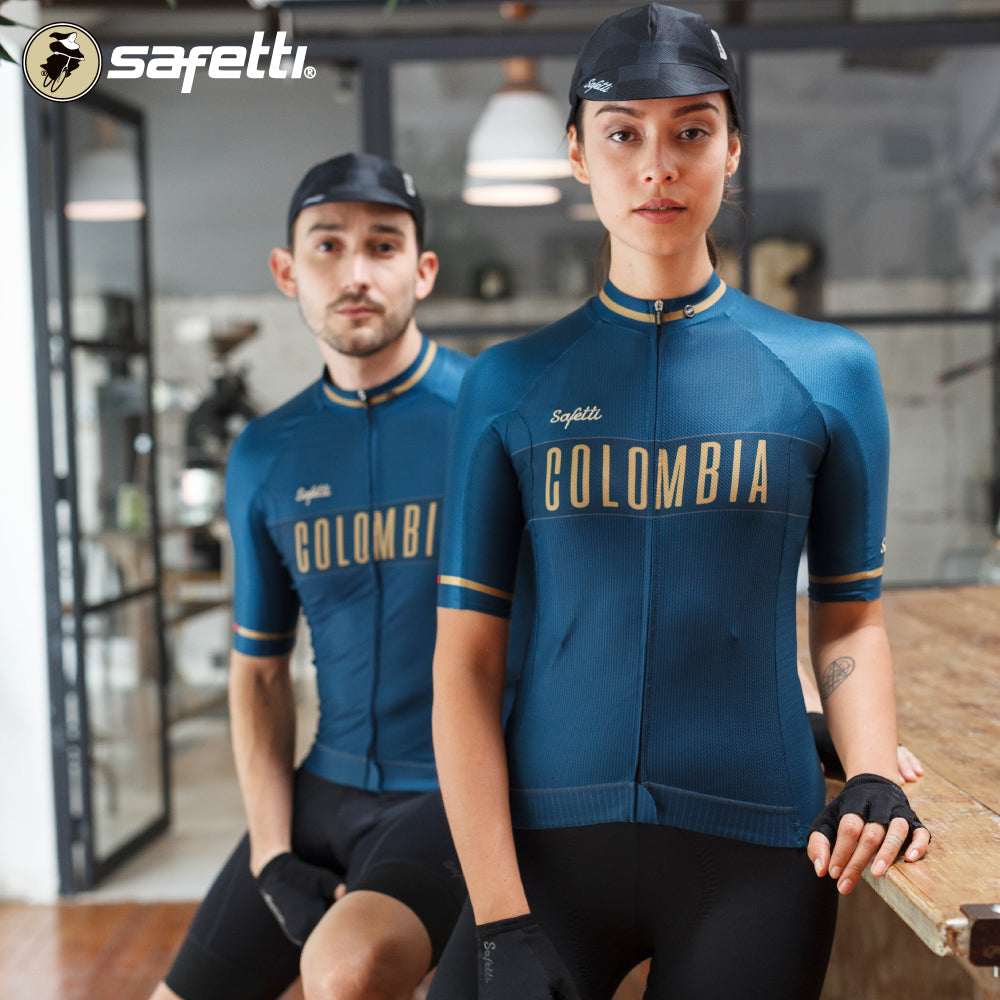 Pre-order Monument II - Colombia Navy - Short Sleeve Jersey. Men