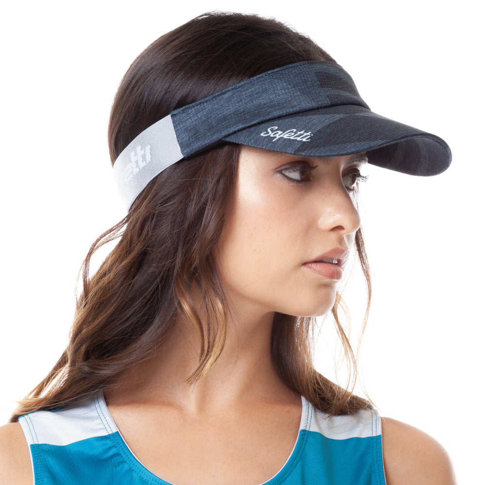 Trascendenza - Ephemeral Black - Cycling Visor Cap. Women