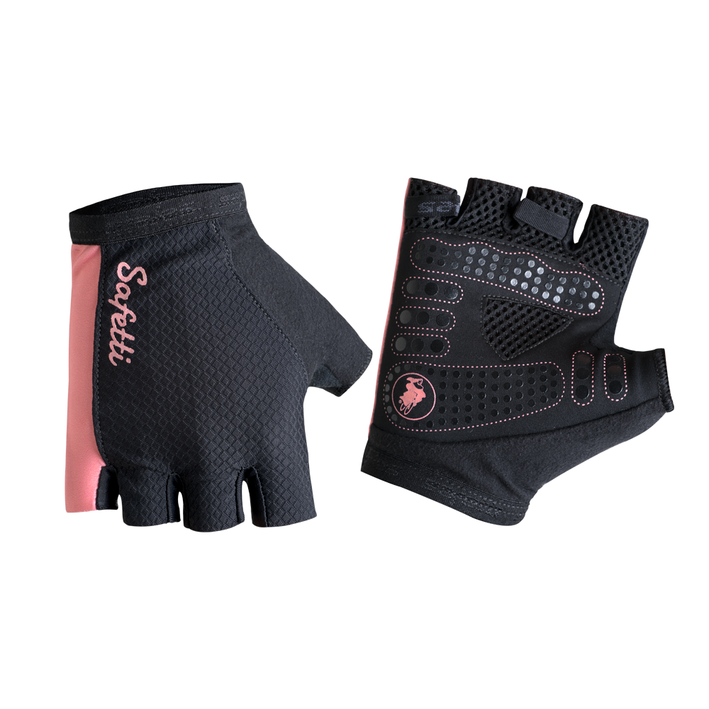 EM-II'17 - Essenziale Salmone - Cycling Gloves. Unisex