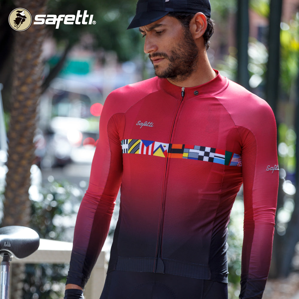 Pre-order Monument II - Epic Cycling - Long Sleeve Jersey. Men