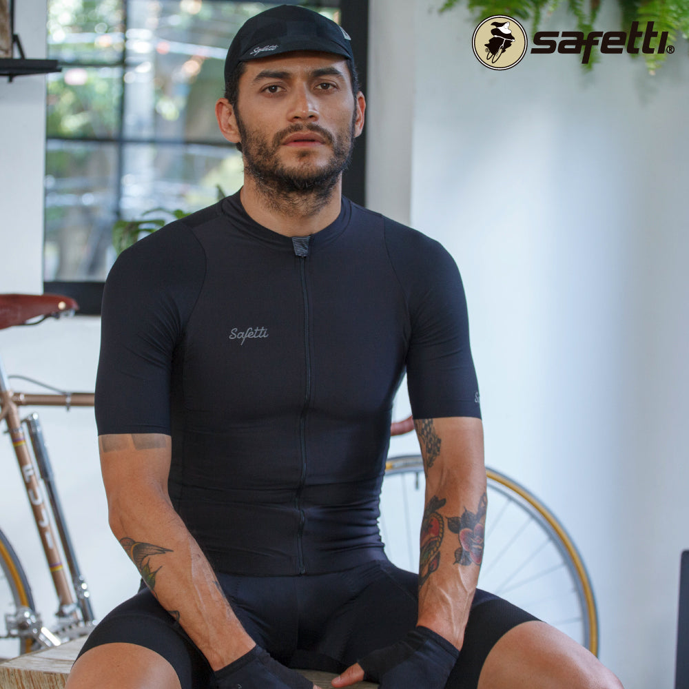 Pre-order Monument II - Verona Nero - Short Sleeve Jersey. Men