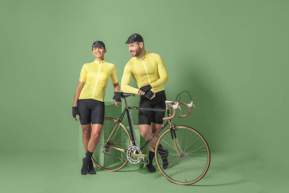 Pre-order Respirare - Brezza Giallo - Long Sleeve Jersey. Men
