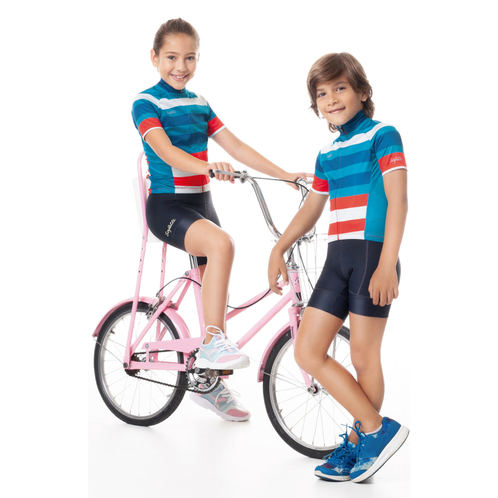 Trascendenza - Lilium - Cycling Bib Short. Junior