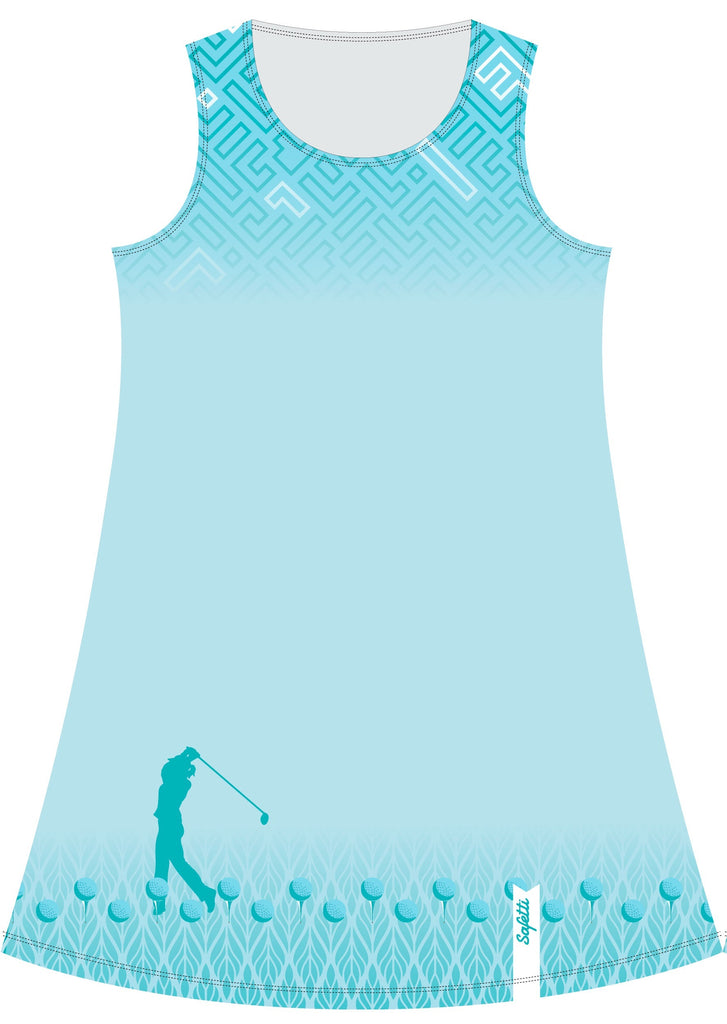 VENEZ -Dress - Light Bianchi - Golf