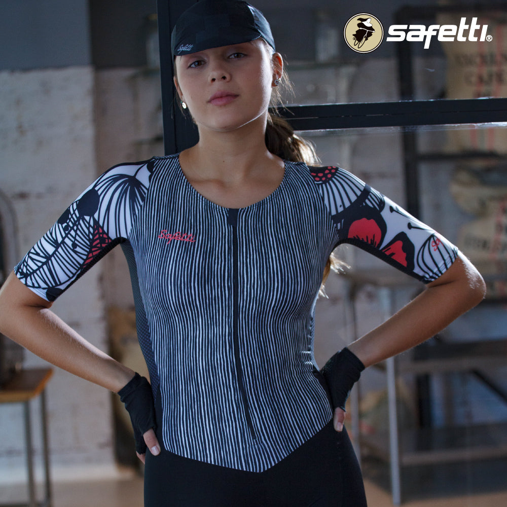 Pre-order Monument II - Primavera Rosa - Cycling Skinsuit. Women
