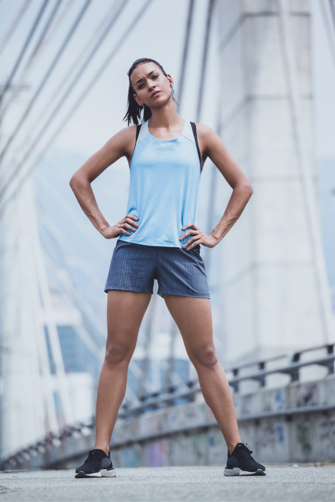 Sunset Running - Endeavor - Sleeveless Running Jersey. Women