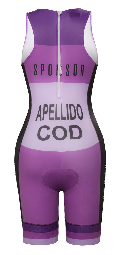 Premium - ITU Acqua Zero - Triathlon Sleeveless Skinsuit