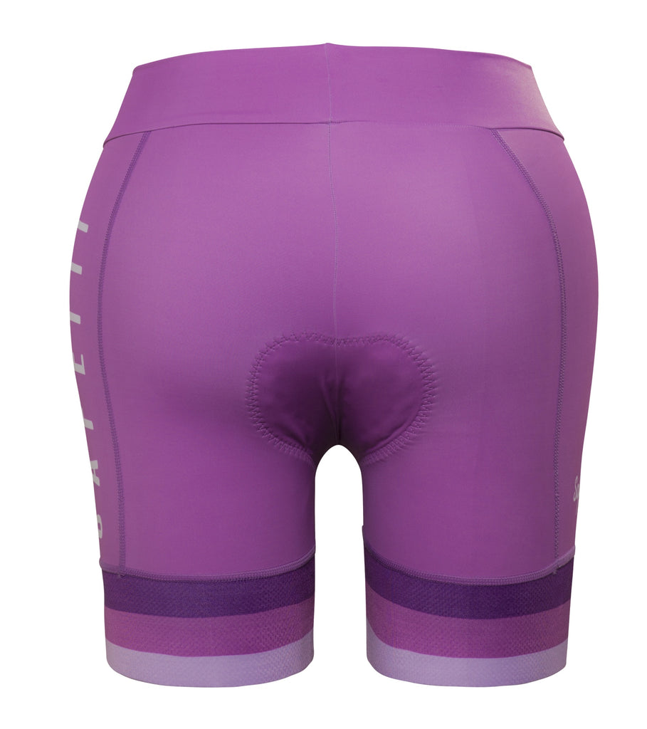 Premium - BIO Acqua Zero - Waist Band Triathlon Short (Shorter Version). Women