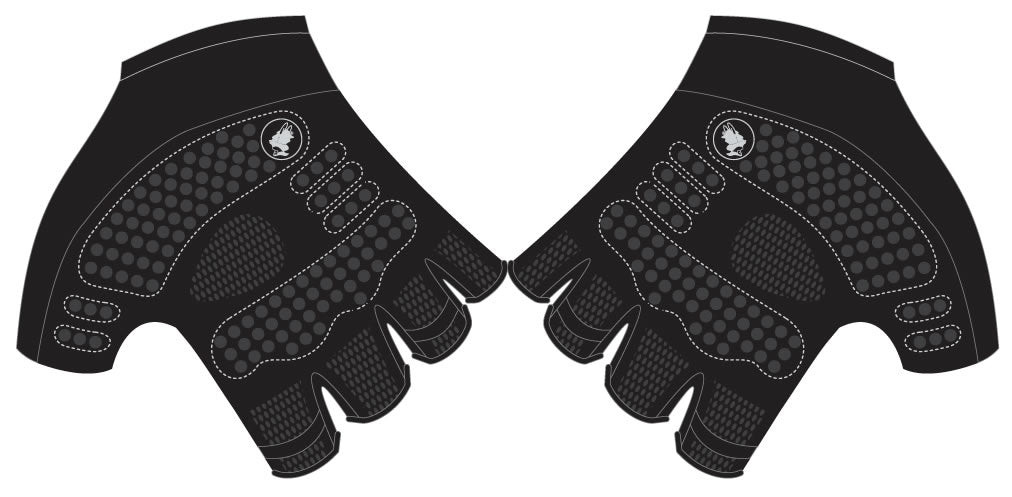 TCM - Short Finger Cycling Gloves. Unisex