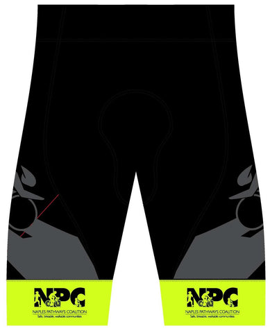 NPC - Printed Cycling Platinum Shorts. Men