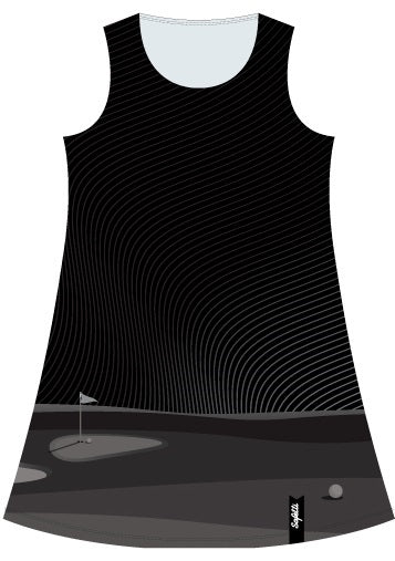 VENEZ -Dress -Black- Golf