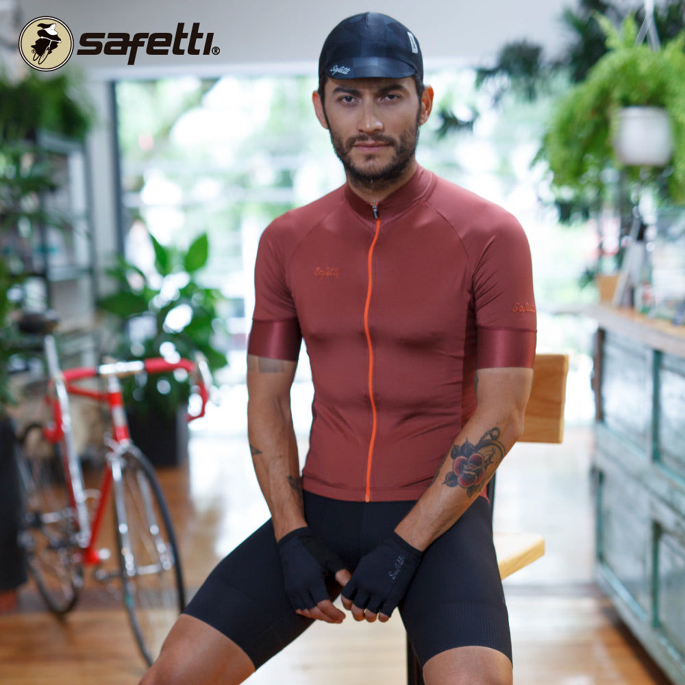 Pre-order Monument II - Verona Marrone - Short Sleeve Jersey. Men