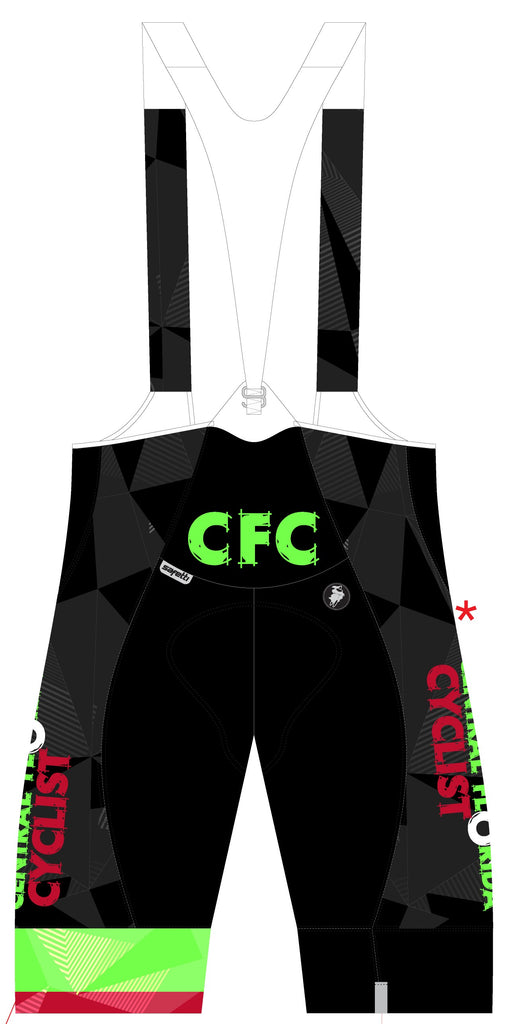 CFC - Bartalli Cycling Bib Short. Women