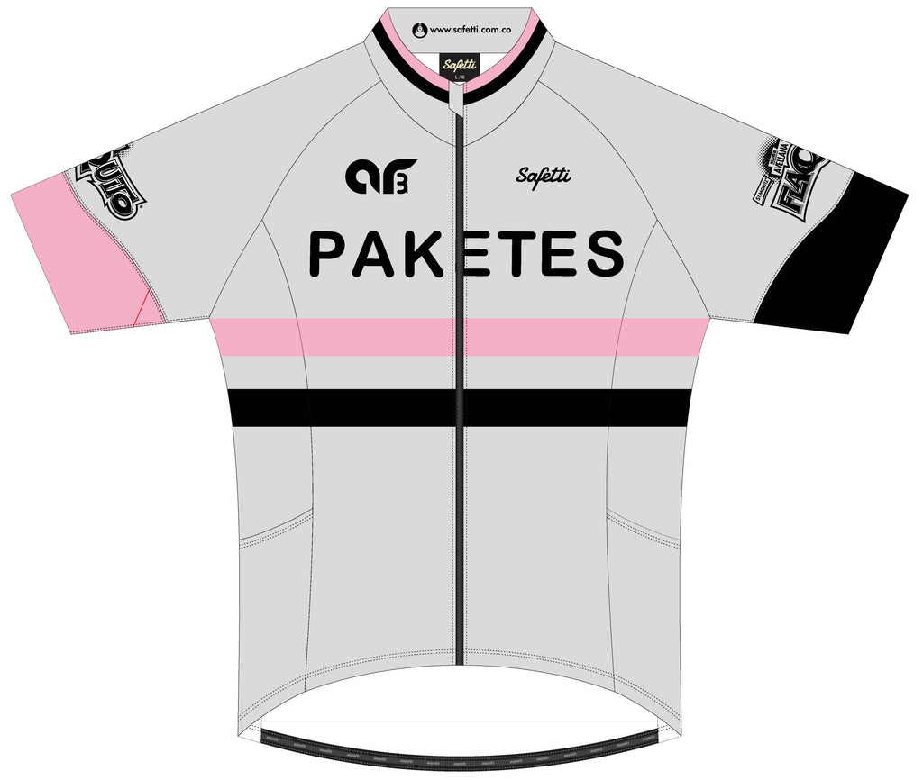 AR3 - Pink Skin Light Short Sleeve Cycling Jersey. Men