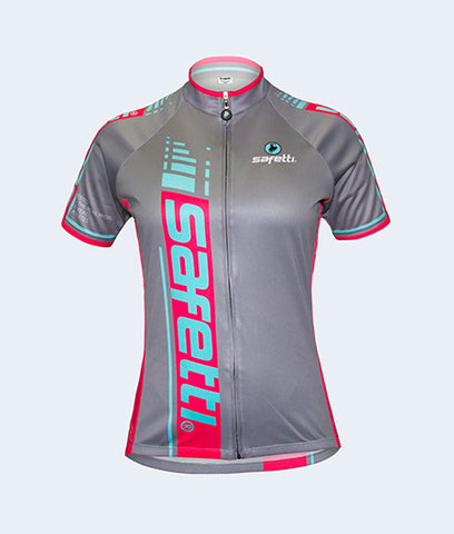 Basic Cycling Short Sleeve Jersey. Women