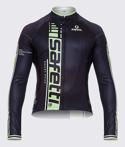 Premium SKIN Cycling Long Sleeve Jersey. Men