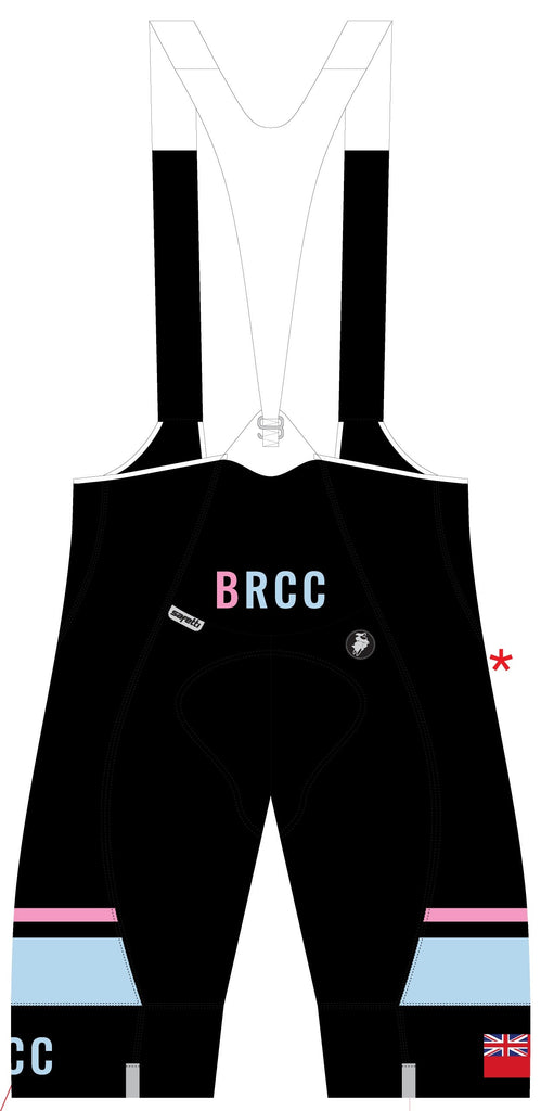 BRCC - Bartali Cycling Bib Short. Women