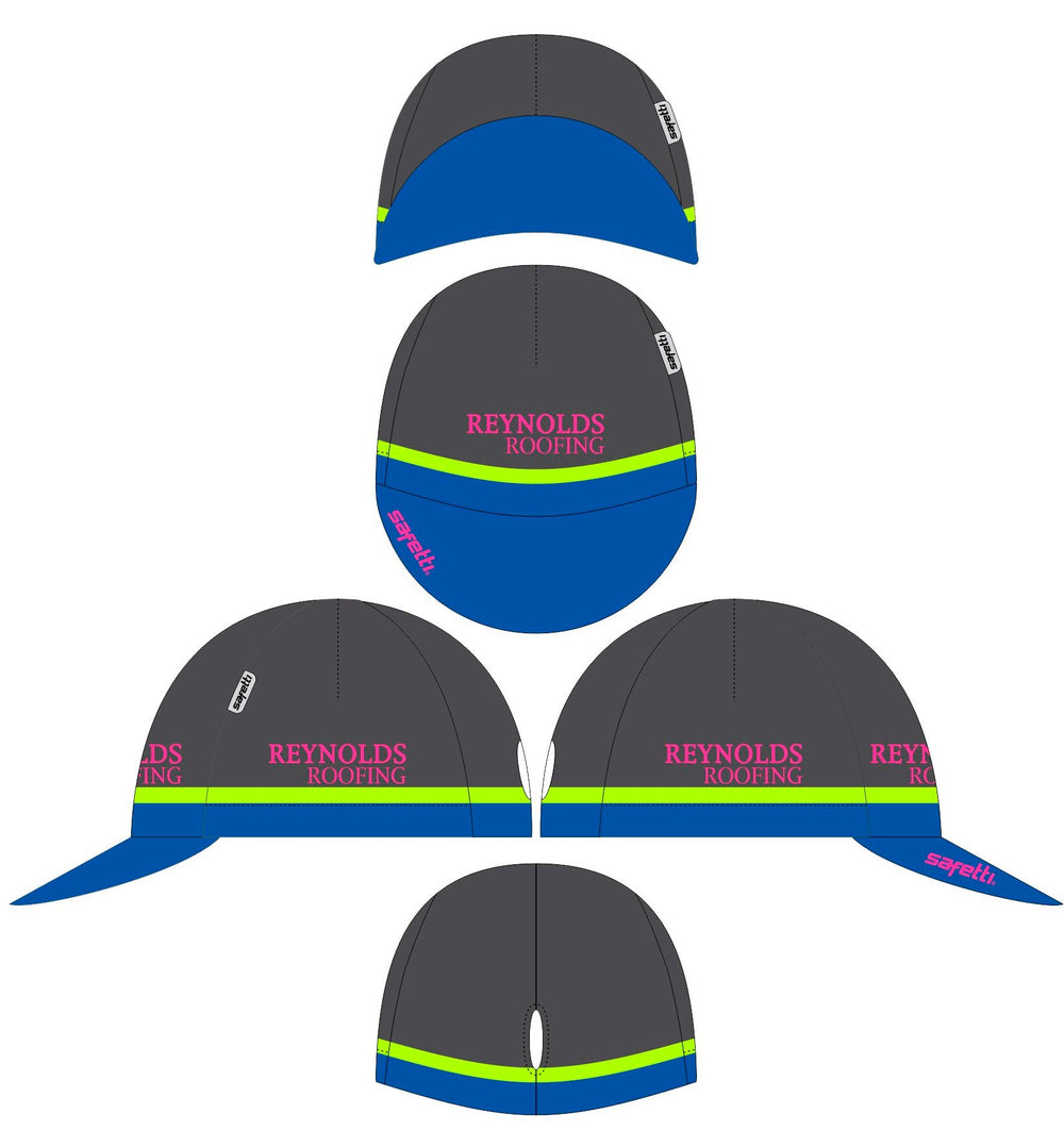 Reynolds Roofing - Cycling Cap. Unisex