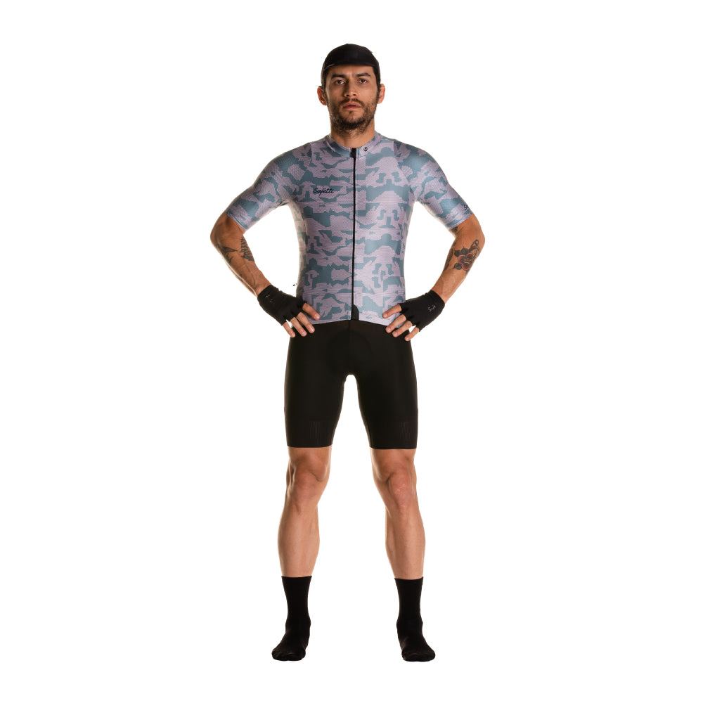 Pre-Order - Attraversiamo - Camufare - Short Sleeve Jersey. Men