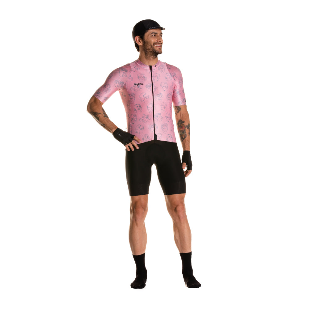 Pre-Order - Attraversiamo - Volti Epici - Short Sleeve Jersey. Men