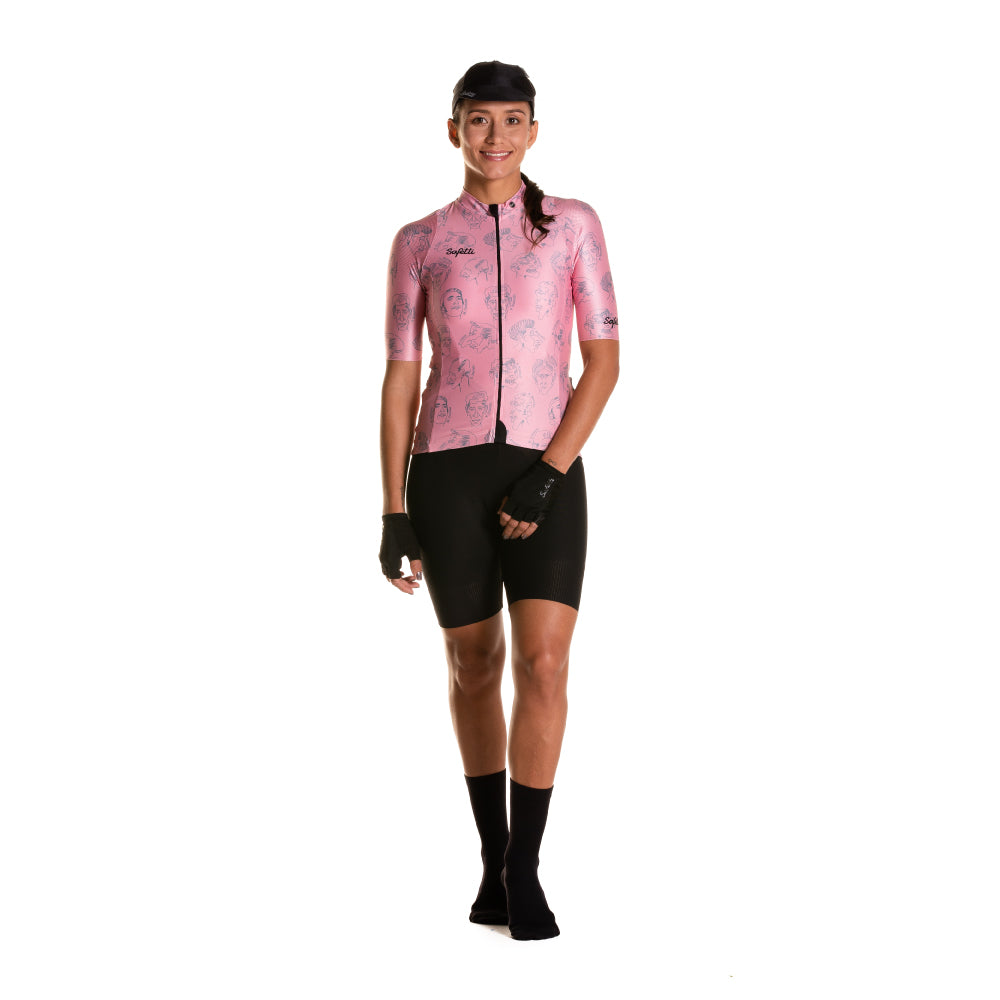 Pre-Order - Attraversiamo - Volti Epici - Short Sleeve Jersey. Women
