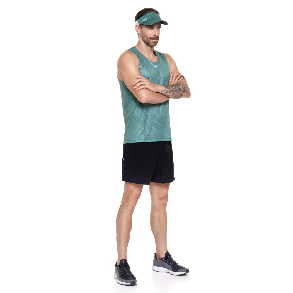 Sunset Running - Resilience - Sleeveless Running Jersey. Men