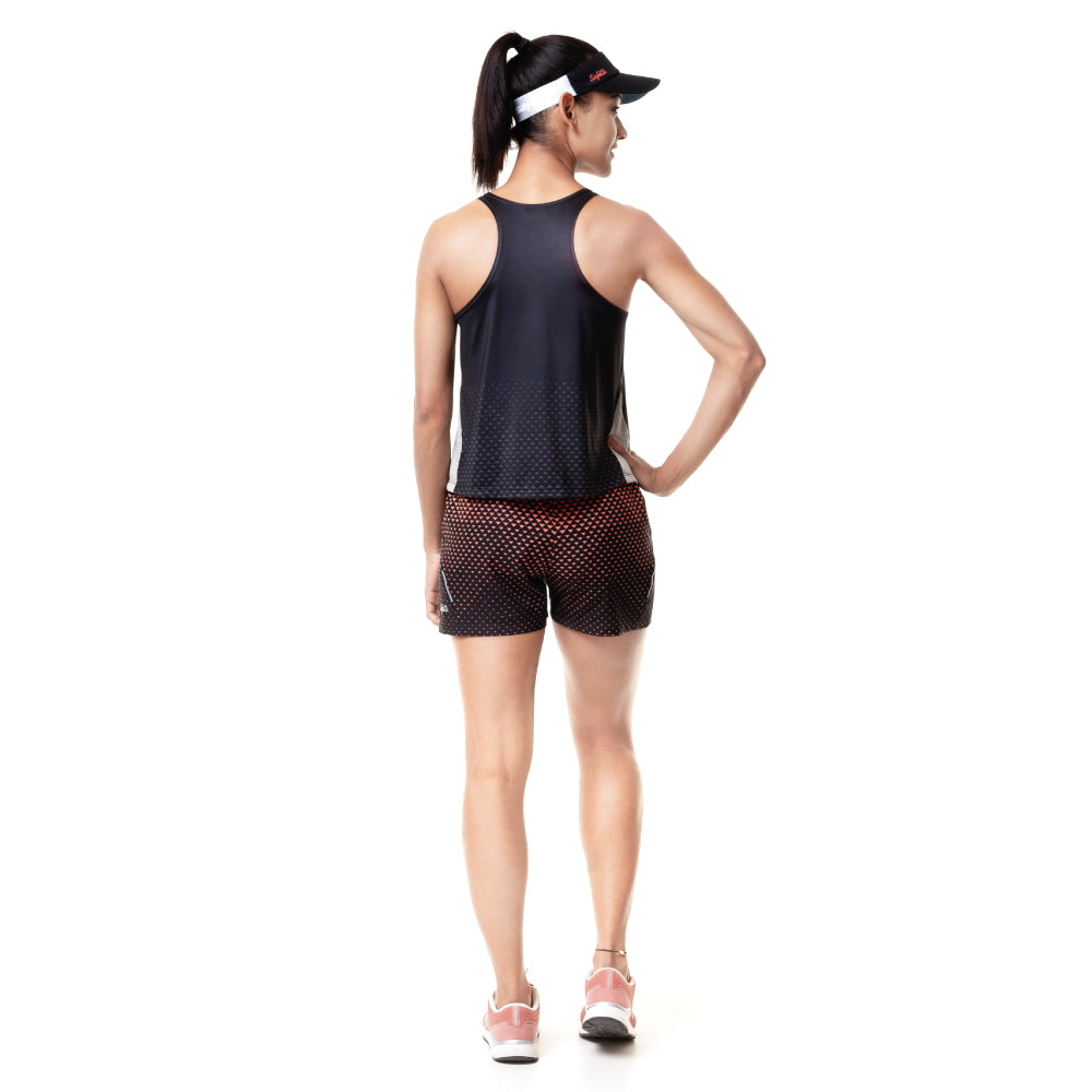 Sunset Running - Resilience - Sleeveless Running Jersey. Women