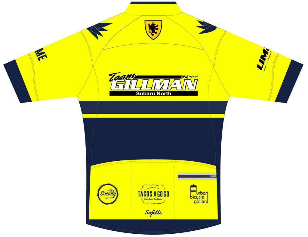 Blue Agave Cycling - DSG2 Yellow. Skin Light Short Sleeve Cycling Jersey. Men