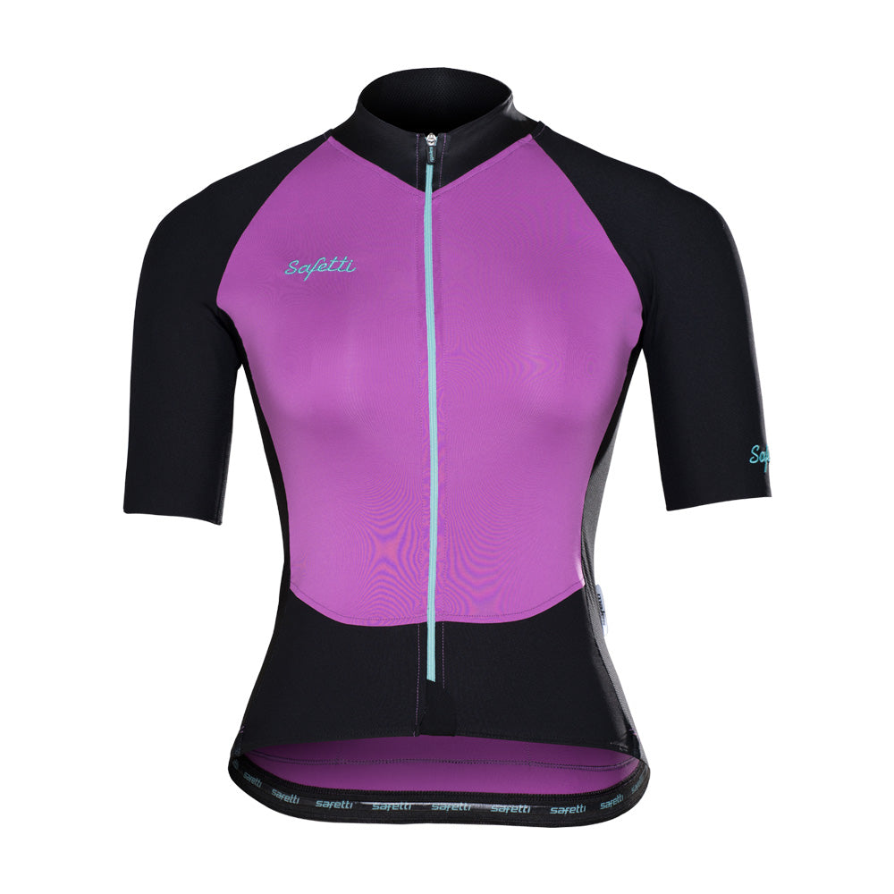 ESP'18 - Colori Praia Porpora - Short Sleeve Jersey. Women