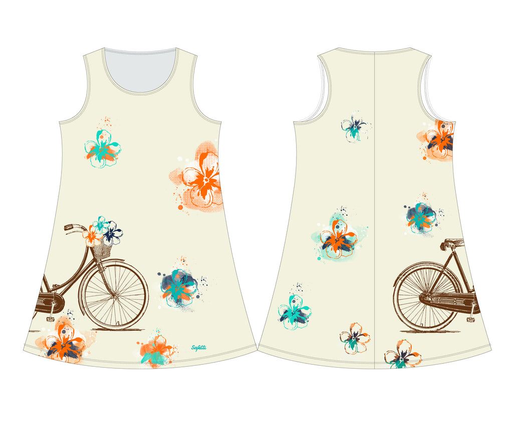 VENEZ - Dress - Cruise Bike Beige