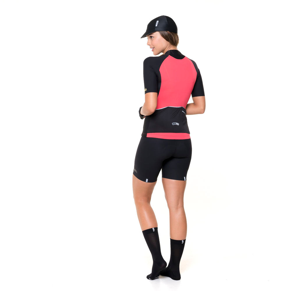ESP'18 - Colori Praia Salmone - Short Sleeve Jersey. Women