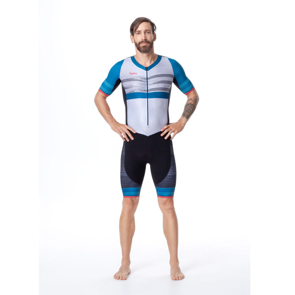 Kona - Performance - Short Sleeve Triathlon Skinsuit