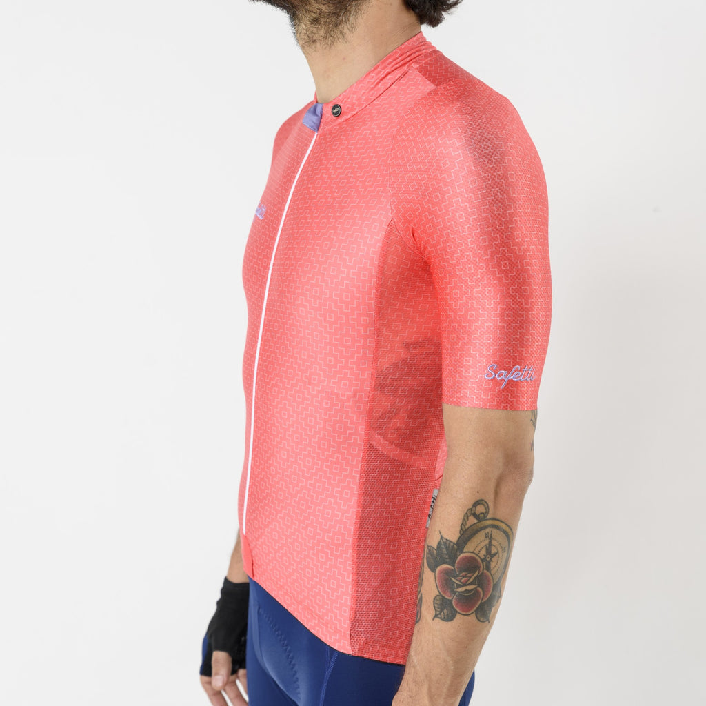 Pre-order Respirare - Brezza Corallo - Short Sleeve Jersey. Men