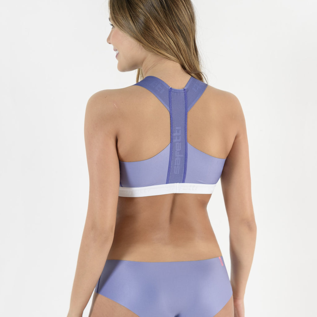 Respirare - Biancheria Lavanda - Cycling Bra. Women