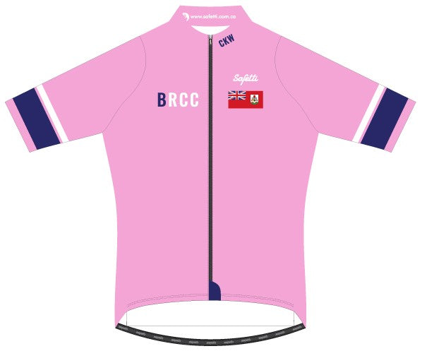 BRCC - Lombardia Pink Short Sleeve Cycling Jersey. Men