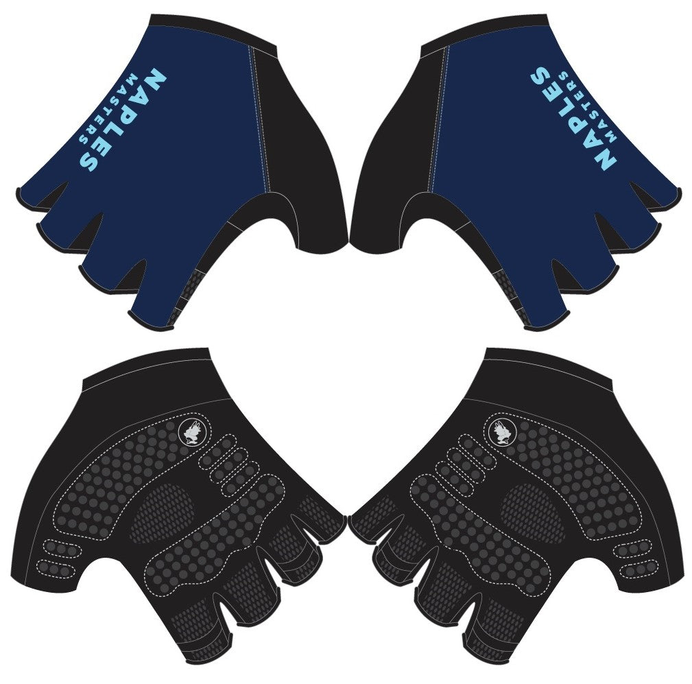 Naples Masters - Short Finger Cycling Gloves. Unisex